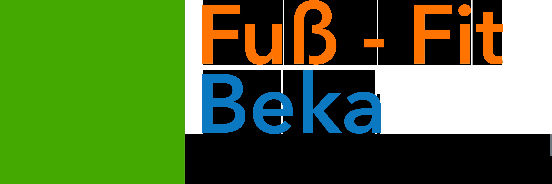 Breites Logo Fuß-Fit Beka